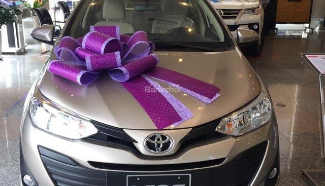 Toyota Tân Cảng bán Vios 2019 khuyến mãi lớn nhất năm-Trả trọn gói 150 tr nhận xe. LH 0901923399