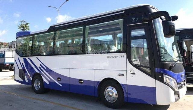Bán xe Thaco TB79S - 29 ghế, 6 bầu hơi, hỗ trợ vay vốn 85% giá trị xe, liên hệ để được tư vấn 0988.522.317