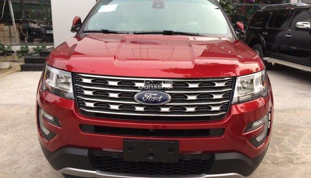 Bán Ford Explorer 2.3 Ecoboost 2018, nhập khẩu nguyên chiếc giao xe ngay đủ màu giá tốt . Hỗ trợ trả góp, LH 0974286009