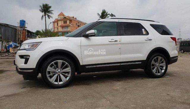 Bán Ford Explorer 2.3 Ecoboost sản xuất năm 2018, nhập khẩu, giao xe tại Lào Cai, LH 0974286009