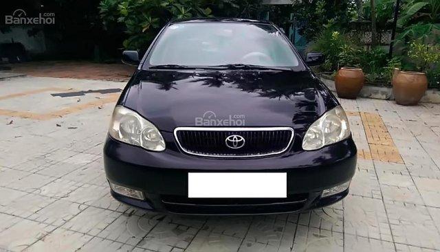 Cần bán Toyota Corolla altis năm sản xuất 2002, màu đen chính chủ, giá tốt