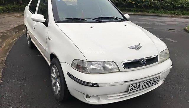 Cần bán Fiat Albea ELX sản xuất 2007, màu trắng