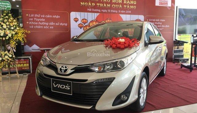 Toyota Hải Dương bán Toyota Vios model 2019 khuyến mại cực lớn trong tháng, trả góp đến 80% - Lh: 0906.34.11.11 Mr Thắng