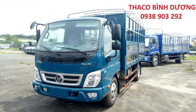 Bán xe Thaco Ollin350 E4 đời 2018, giá 354tr, Ollin350 thùng mui bạt 2T1 - trả góp 70% tại Bình Dương, 0938903292