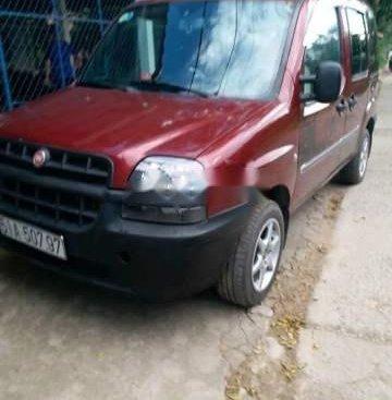 Cần bán lại xe Fiat Doblo 2003, màu đỏ, 120tr