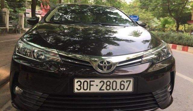 Bán Toyota Corolla Altis đời 2018, màu đen, giá chỉ 790 triệu