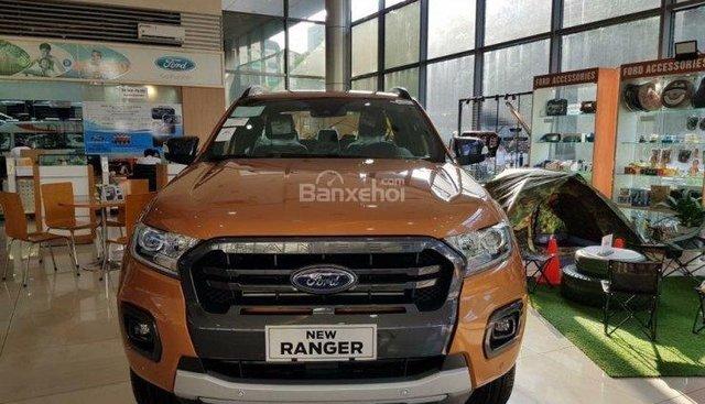 Cao Bằng bán xe Ford Ranger Wildtrak 2.0 Biturbo sản xuất 2019, nhập khẩu nguyên chiếc. LH 0974286009