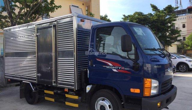 Bán xe tải Hyundai New Mighty N250 thùng kín inox, giảm giá 20 triệu + tặng bảo hiểm 100%