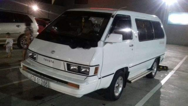 Cần bán Toyota Van năm sản xuất 1984, màu trắng
