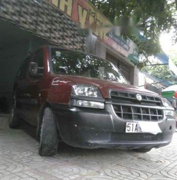 Bán xe Fiat Doblo đời 2004, màu đỏ, xe nhập