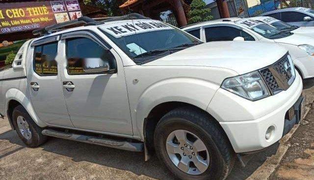 Bán Nissan Navara sản xuất năm 2013, màu trắng, giá tốt