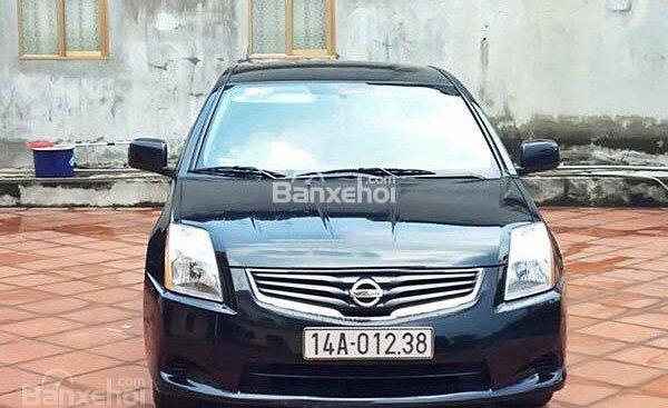Bán Nissan Sentra sản xuất 2010, màu đen, nhập khẩu, giá 268tr