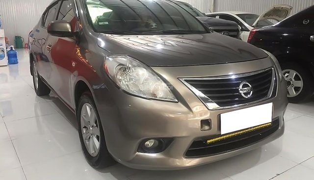 Bán xe cũ Nissan Sunny XV sx 2013, màu nâu