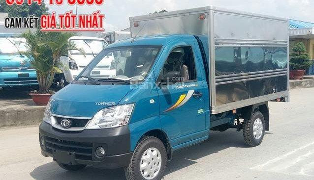 Bán Thaco Towner 990 máy Suzuki, thùng kín 990kg đời 2018 tại Bình Dương, trả góp 60tr nhận xe, liên hệ 0938903292
