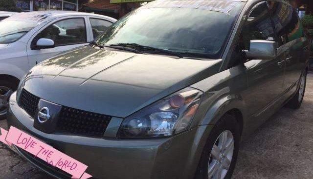 Bán Nissan Quest năm 2005, màu xám, nhập khẩu nguyên chiếc, giá chỉ 410 triệu