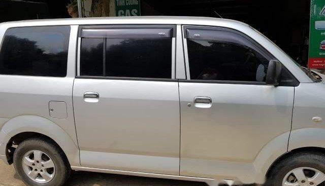 Bán xe Suzuki APV đời 2007, màu bạc xe gia đình