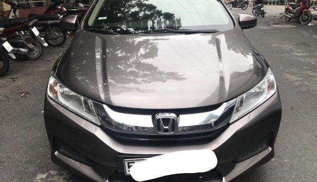 Cần bán xe Honda City 2016 số sàn, màu xám xịn