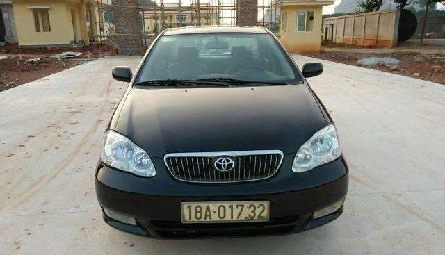 Bán xe cũ Toyota Corolla altis đời 2003, màu đen