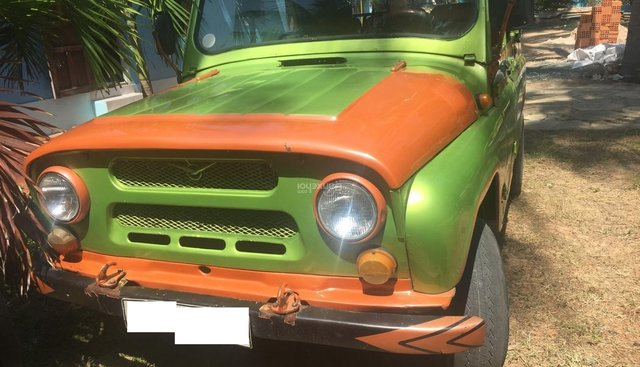 Cần bán xe UAZ LX năm 1989, màu xanh, nhập khẩu