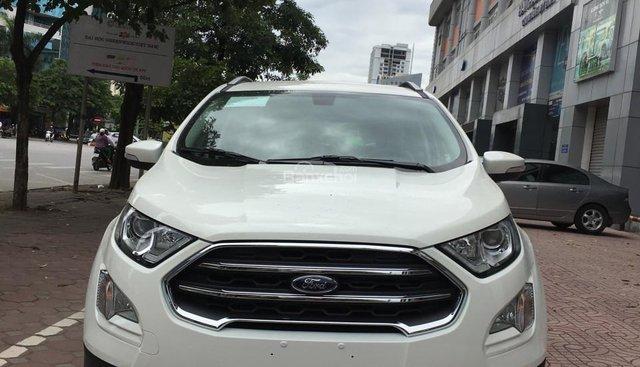 Bán xe Ford Ecosport 1.5L AT đời 2019, màu trắng - đủ màu giao ngay, liên hệ 0901858386