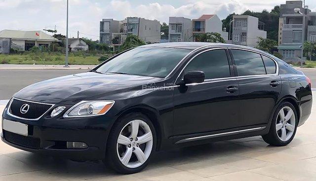 Cần bán Lexus GS 350 đời 2007, màu đen, nhập khẩu nguyên chiếc