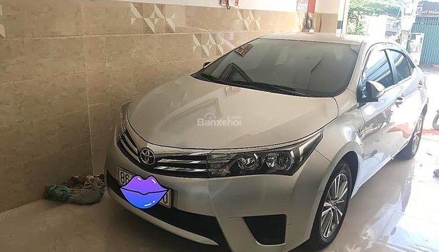 Cần bán xe cũ Toyota Corolla altis 1.8G MT sản xuất năm 2016, màu bạc