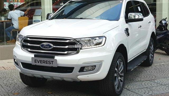 Cần bán Ford Everest Titanium, Trend AT, 2018, màu đen, nhập khẩu, đủ màu, tặng BHTV, gói phụ kiện