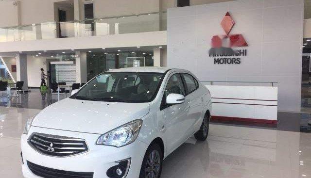Cần bán Mitsubishi Attrage đời 2018, màu trắng, nhập khẩu, 375.5 triệu