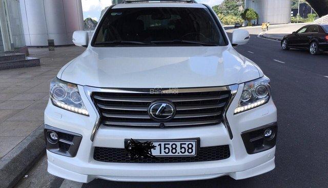 Cần bán xe Lexus LX 570 sản xuất 2014, màu trắng, xe nhập