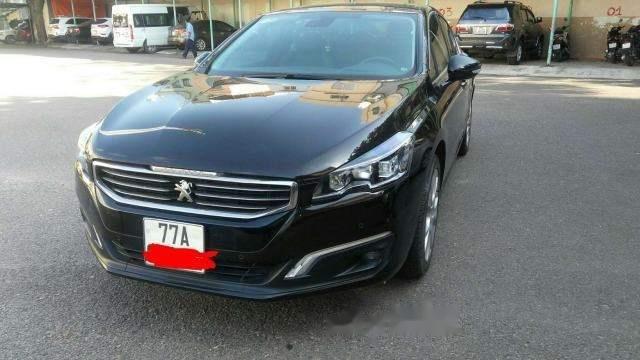 Gia đình cần bán xe Peugeot 508 đời 2015, màu đen