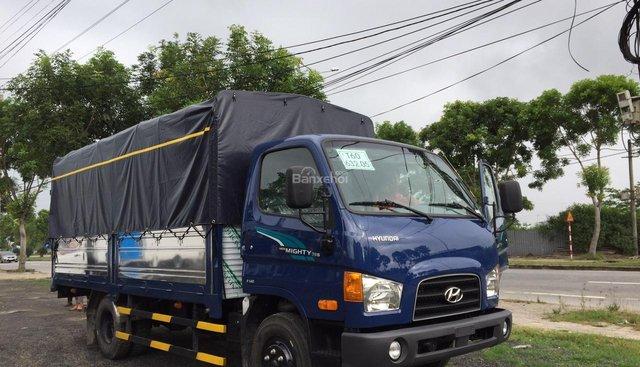 Bán xe tải Hyundai New Mighty 75S mui bạt, thùng kín inox, giảm giá đến 10 triệu đồng