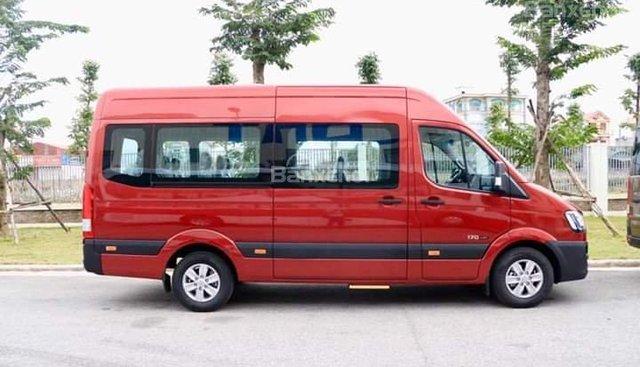 Bán xe 16 chỗ Solati Hyundai mới 2018, màu đỏ, có trả góp tại Tây Ninh. LH: 0902570727