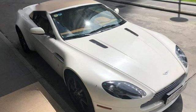 Bán ô tô Aston Martin Vantage V8 4.3 sản xuất 2007, màu trắng, giá tốt