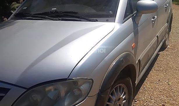 Bán ô tô Ssangyong Rexton II 2.7 đời 2008, màu bạc, xe nhập, giá chỉ 320 triệu