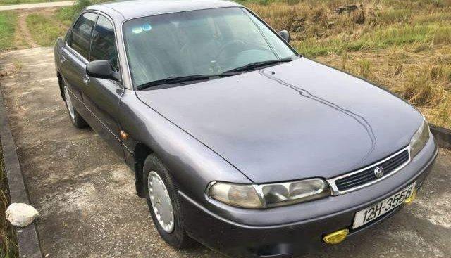 Cần bán Mazda 626 sản xuất 1995, màu xám, xe nhập