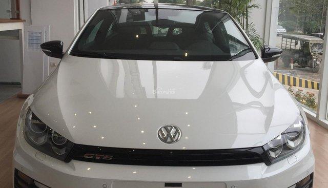 Volkswagen Scirocco GTS 2.0 GTS trắng, ưu đãi khủng tại Volkswagen Phạm Văn Đồng