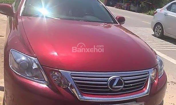 Cần bán gấp Lexus GS 450h năm sản xuất 2010, màu đỏ, nhập khẩu nguyên chiếc