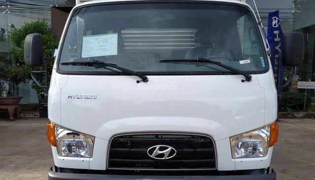 Hyundai New Mighty 75S 2018, thùng kín inox, giảm giá ưu đãi, có sẵn xe và hồ sơ