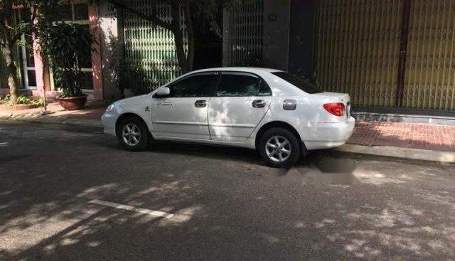 Cần bán xe Toyota Corolla altis 1.8MT sản xuất năm 2001, màu trắng số sàn
