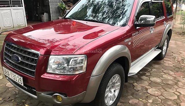 Bán ô tô Ford Everest 2.5L 4x2 MT năm 2007, màu đỏ, giá tốt
