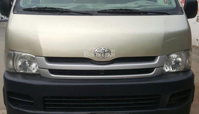 Toyota Hiace 2009 máy xăng, 16 chỗ, nhà sử dụng kỹ. LH 0917174050 Thanh