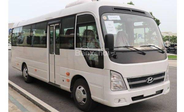 Bán xe Hyundai County 29 chỗ đời 2019, màu trắng