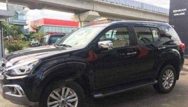 Bán Isuzu mu-X 1.9 4X2 AT năm 2018, màu đen, xe nhập