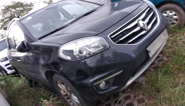 Ngân hàng bán đấu giá xe Renault Koleos đời 2012, màu đen, nhập khẩu