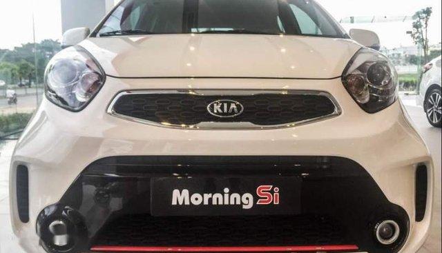 Bán xe Kia Morning sản xuất năm 2018, màu trắng