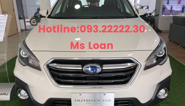 Bán Subaru Outback Eyesight trắng ca may, xe giao ngay, giá ưu đãi tháng 5, gọi 093.22222.30 Ms Loan