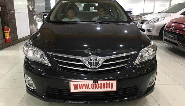 Bán Toyota Corolla đời 2012, màu đen, số tự động