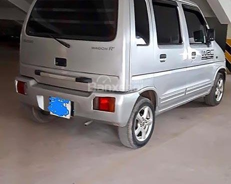 Bán Suzuki Wagon R+ 1.0 MT đời 2003, màu bạc