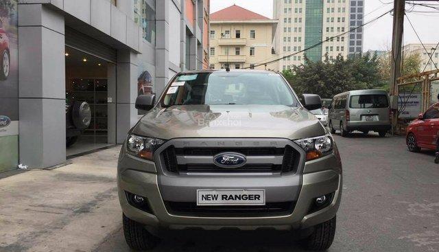 Tuyên Quang, bán Ford Ranger Bi, 1 cầu, đời 2018, giá sốc, sẵn xe, tặng gói phụ kiện, bao vay HS vay