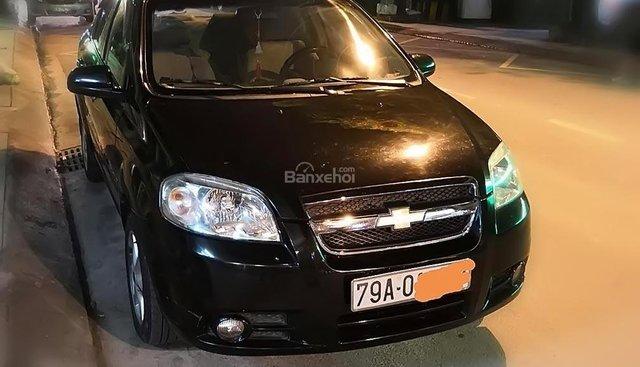 Cần bán gấp Chevrolet Aveo 1.5 MT 2012, màu đen